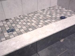 Shower Wall+ Floor Tile