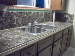 APT 2- TILE COUNTER + BACK SPLASH