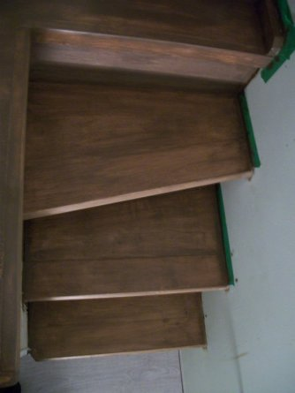 Custom woodwork/ Mini staircase