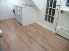 Laundry Area/ Laminate Install